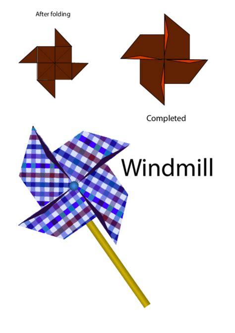 Origami Wheels - easy origami pin wheel kidspressmagazine