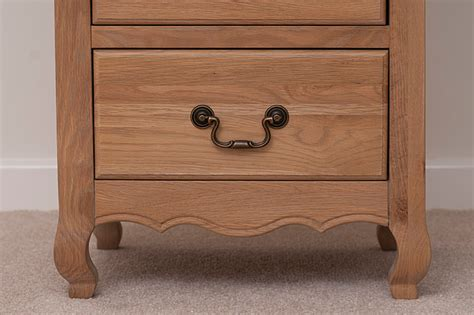 Grace Chest 5 Drawer oak chest of drawers bedroom furniture storage chests