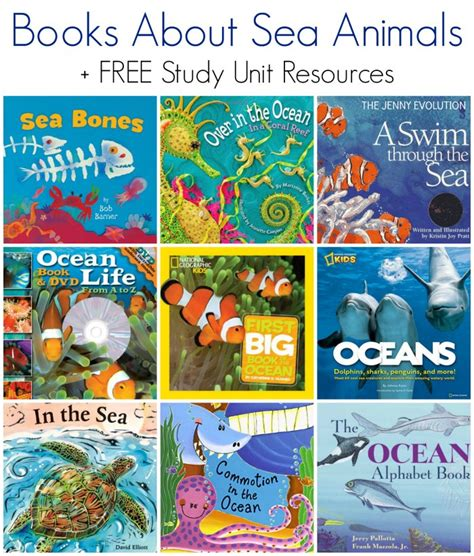 themes in the book elsewhere books about sea animals free ocean animals study unit
