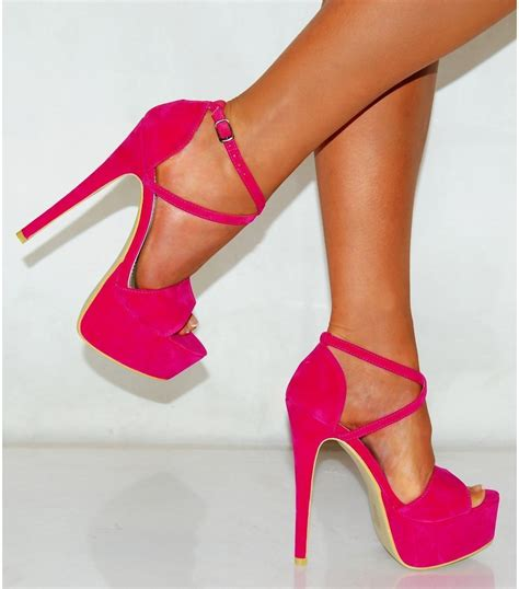 images of in high heels pink high heels 06