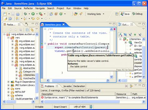 xp eclipse tutorial eclipse platform technical overview
