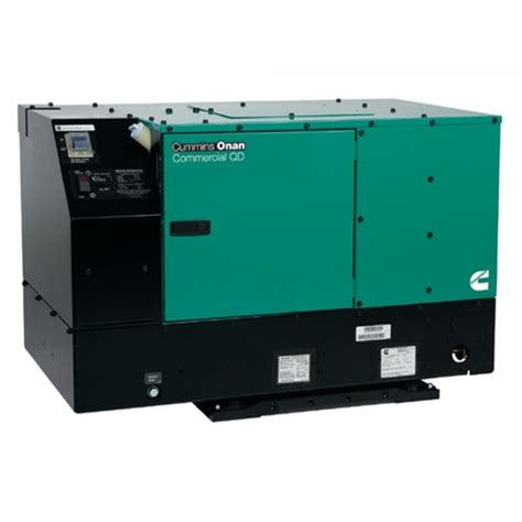 cummins onan commercial series qd12000 12kw diesel mobile
