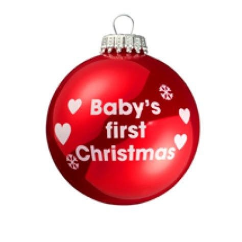 how to take baby frist christmas pictures baby s 2011 white tree bauble threelittlebears co uk