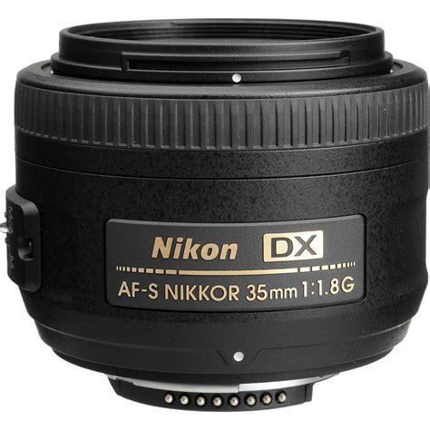 nikon 35mm f 1 8g af s dx nikkor lens 2183 b h photo