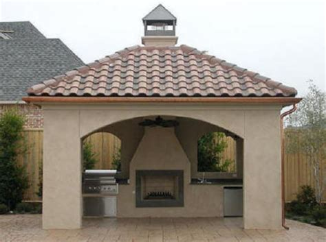 cost of an outdoor fireplace cost to build outdoor room we do it all kitchen