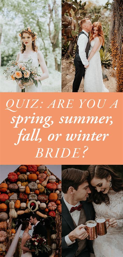 Wedding Ceremony Quiz by Quiz Are You A Summer Fall Or Winter