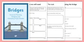 design a front cover ks2 structures planning designing and evaluating a bridge booklet