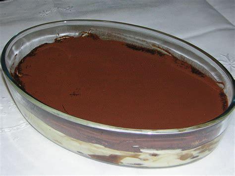 cucina con tiramisu tiramis 249 con pavesini al cioccolato in cucina con zia lora