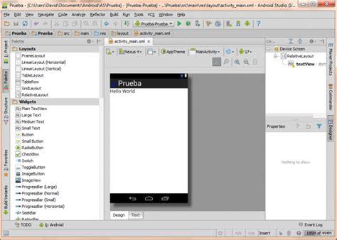 android studio tutorial in pdf as 237 funciona el nuevo android studio comenzando a usar la