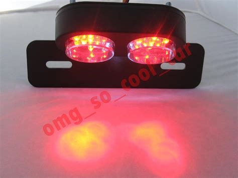 Universal Motorcycle Led Tail Light Tl023 53 99 Led Brake Light Motorcycle