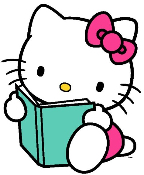 imagenes de kitty leyendo hello kitty clipart png clipart panda free clipart images