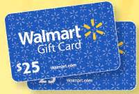 Walmart 25 Gift Card - thanks mail carrier forget running errands for your favorite p g products have