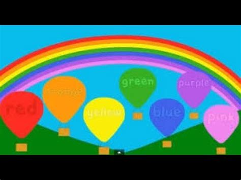 colors of the rainbow song rainbow colors song learn colors of the rainbow song and