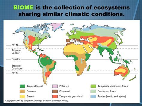 map  biome locations   world temperate deciduous