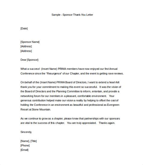 sample professional letter templates