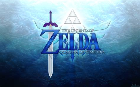 blue zelda wallpaper ocarina of time ura wallpaper by blueamnesiac on deviantart