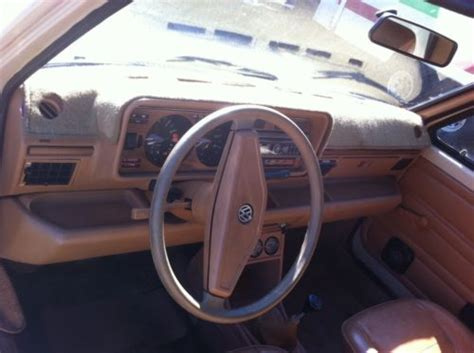 volkswagen rabbit truck interior 1980 volkswagen rabbit caddy interior iii german cars