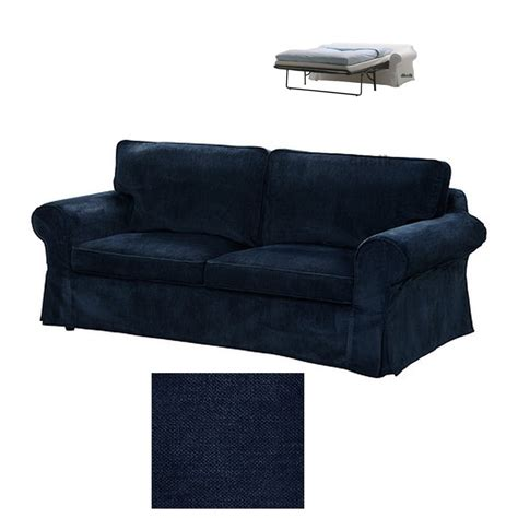 Futon Chair Covers Ikea by Ikea Ektorp 2 Seat Sofa Bed Slipcover Loveseat Sofabed Cover Vellinge Blue
