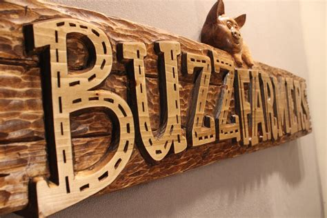 Handmade Signs Wood - crafted business signs custom wood signs