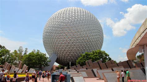 disney epcot wallpaper spaceship earth a beautiful day to visit epcot and
