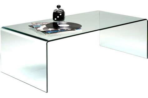 tables basses en verre design table basse en verre bahia declikdeco