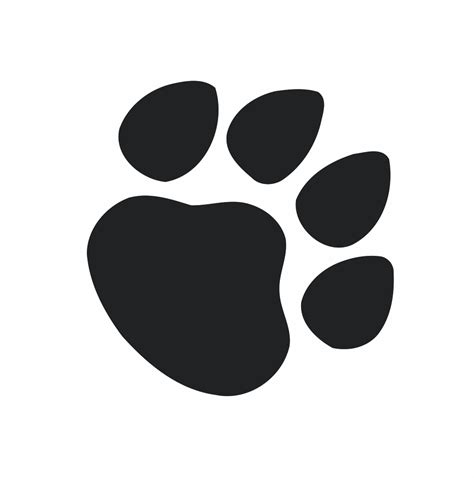 paw print graphics cliparts