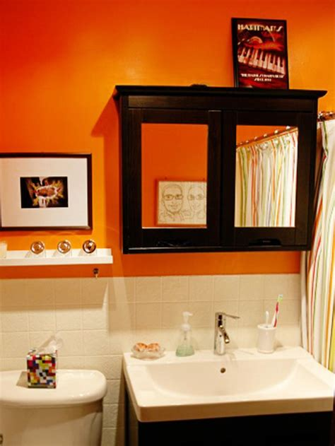 orange bathroom walls 12 stylish bathroom designs for kids