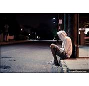 Sad Alone Boy Street