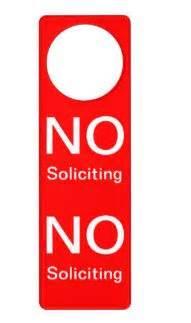 How To Stop Door To Door Solicitors Legally by Door To Door Peddlers And Door Hangers What S What