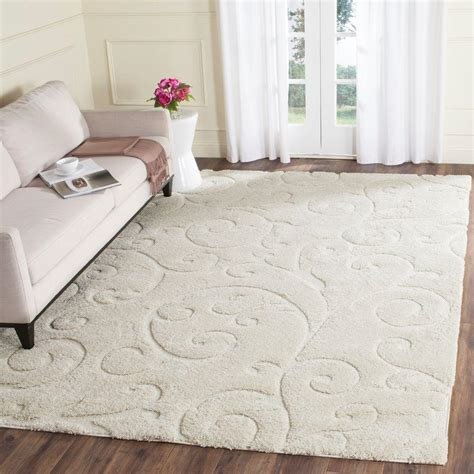 6 X 12 Area Rug Safavieh Florida Shag 8 Ft 6 In X 12 Ft Area Rug Sg455 1111 9 The Home Depot