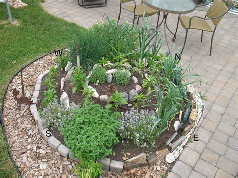 herb garden design update the herb spiral gardeninggrrl