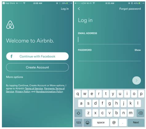 airbnb login travel app success how airbnb delta expedia choice hotels