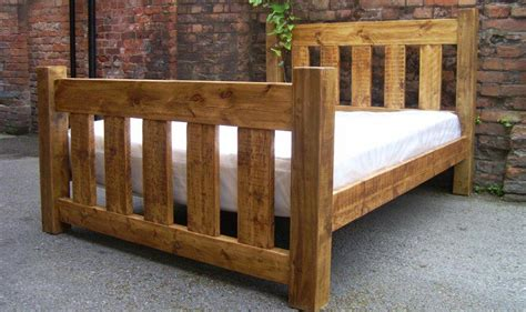 bed gate rustic plank gate slatted bed