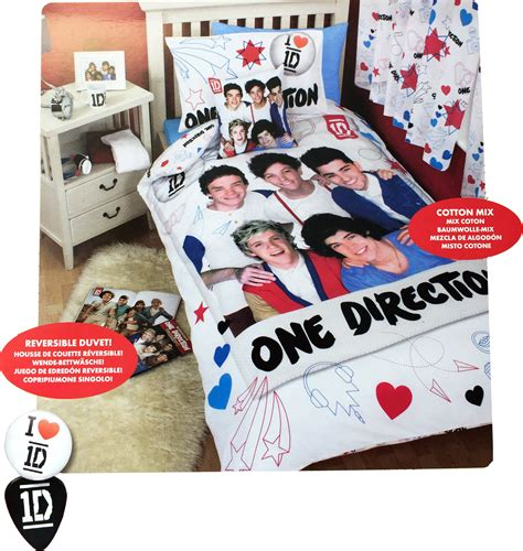 one direction bed sheets one direction 1d doodles reversible single panel duvet