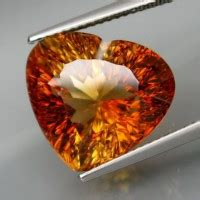 Imperial Chagne Topaz 15 80ct 13 80 cts echtes nat 220 rliches imperial chagner topas
