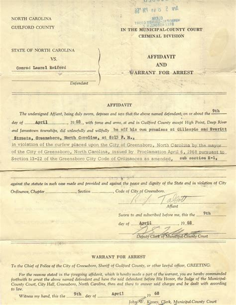 What Must A Search Warrant Contain Arrest Warrant Template