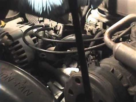 chevy blazer thermostat replacement youtube