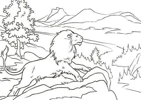 narnia lion coloring page chronicles of narnia coloring pages getcoloringpages com
