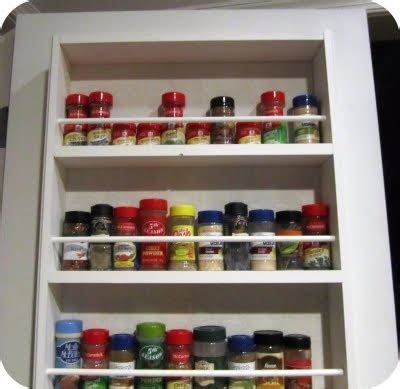 diy spice rack on the door diy spice rack organization ideas and tips