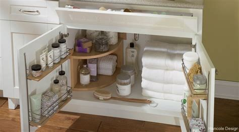 Bathroom Under Sink Storage by Under The Sink Bathroom Storage Solution Clean