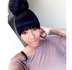 weave ponytail with bangs hairstyles immodell net