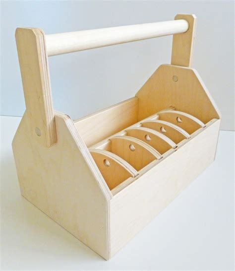 Kitchen Bin Ideas by Woodwork Childs Wooden Tool Box Caddy Pdf Plans