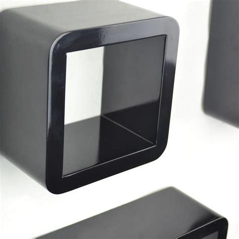 Floating Shelf Bentuk Frame 3 Pcs cube wall shelves mdf set of 3 pcs of shelf corner floating decoration ebay