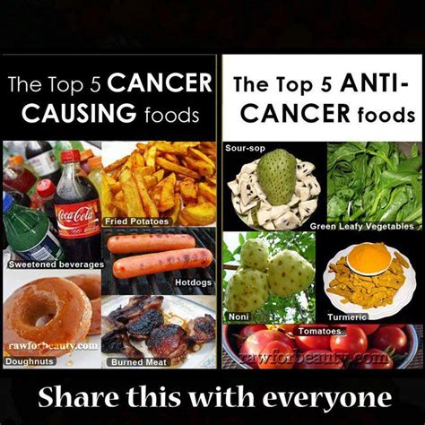cancer diet top cancer and anti cancer foods health