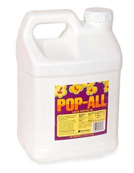 popcorn popcorn oil pourable jugs pop   lbs