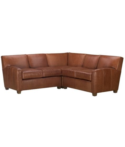 Tight Back Leather Sofa Contemporary 3 Tight Back Leather Sectional Sofa Club Furniture