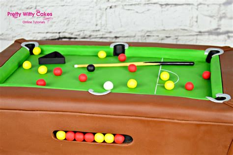 pool table cake cake decorating tutorials
