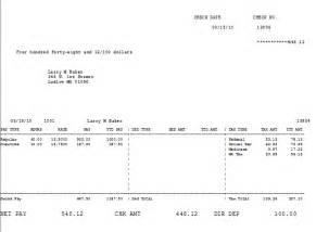 direct deposit check stub template print payroll checks direct deposit stubs keystone help