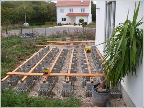 Garten Terrasse Bauen Anleitung Terrasse House Und