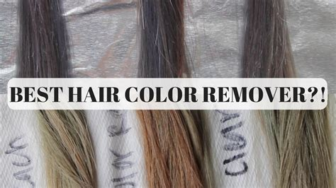 how to remove hair color from hair best color removers for hair color remover or